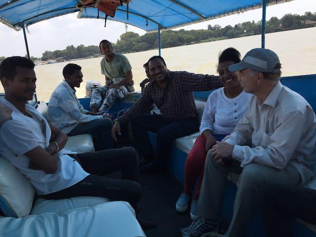 North Ethiopia Tour car & boat rental