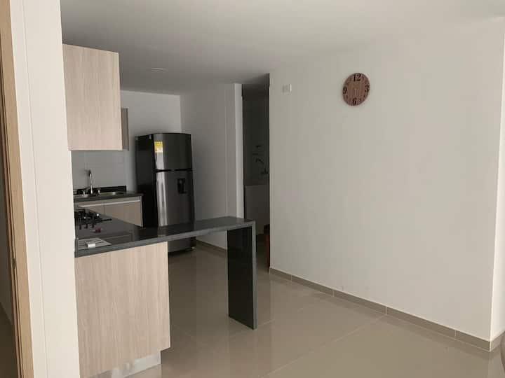 Apto nuevo 2 cuartos norte Barranquilla (amoblado)