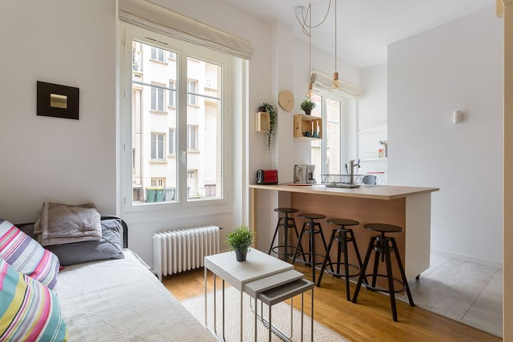 Charming renovated studio apartment