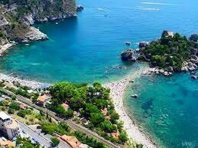 Casa panoramica a pochi km da Taormina - Motta Camastra - Talo