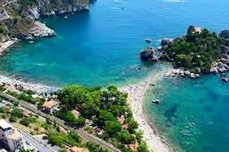 Casa panoramica a pochi km da Taormina - Motta Camastra