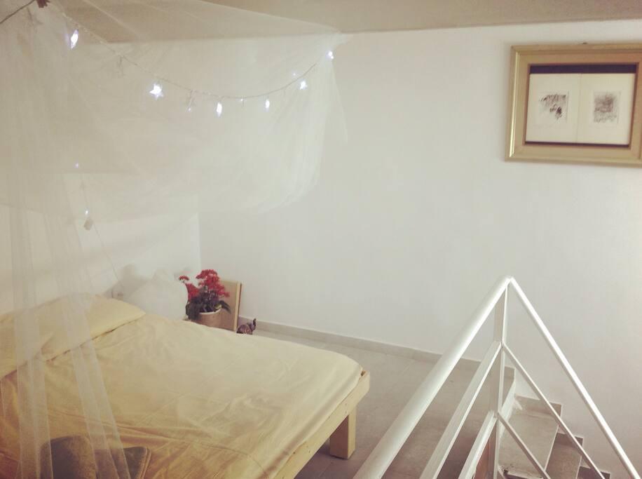 Bedroom. Second floor.