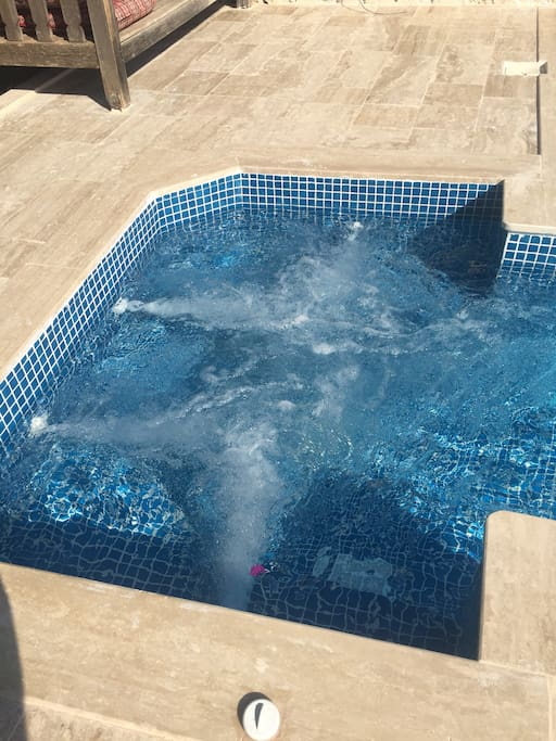 6 seater remote controlled adjustable Jacuzzi