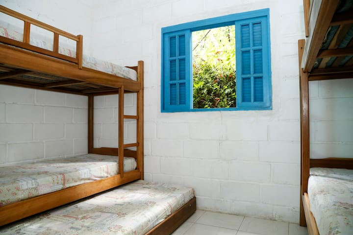 Hostel Colibri em Camburi, Ubatuba