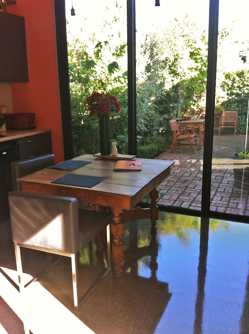 kitchenette and dining