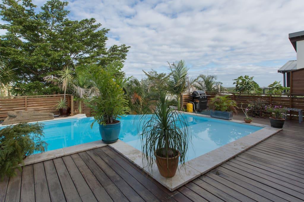 Belle villa avec sa piscine d bordement maisons for Villa piscine debordement