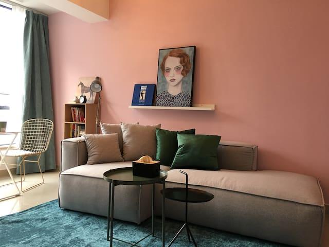 混室(mix room)/市中心 双地铁 步行至春熙路太古里 专业设计师打造轻松舒适自由独立公寓