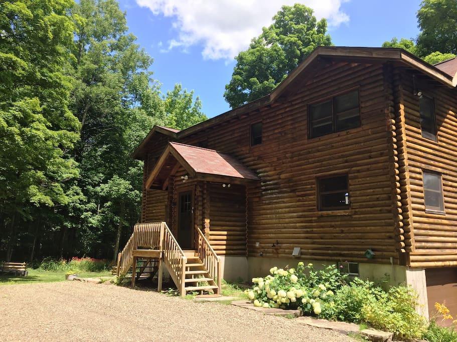 Stunning Log Home