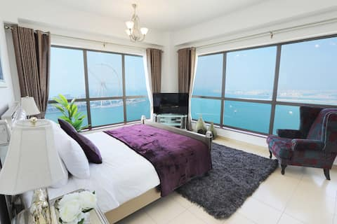 Роскошный дом - Marvel Sea View Apartment JBR Beach