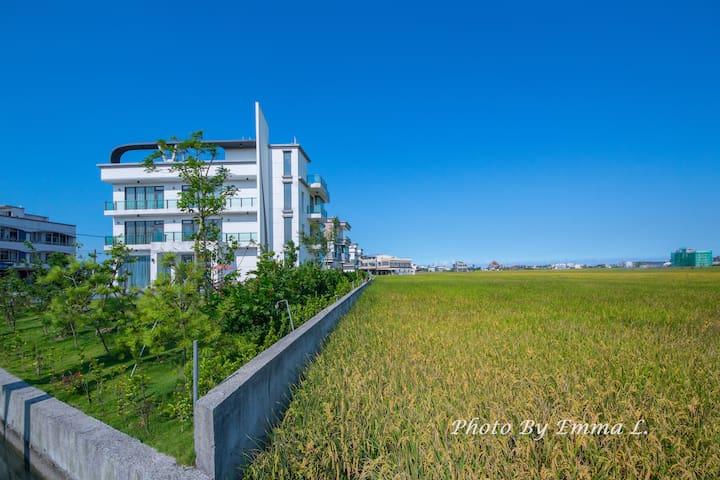 禾風彩魚會館-201景觀雙人套房