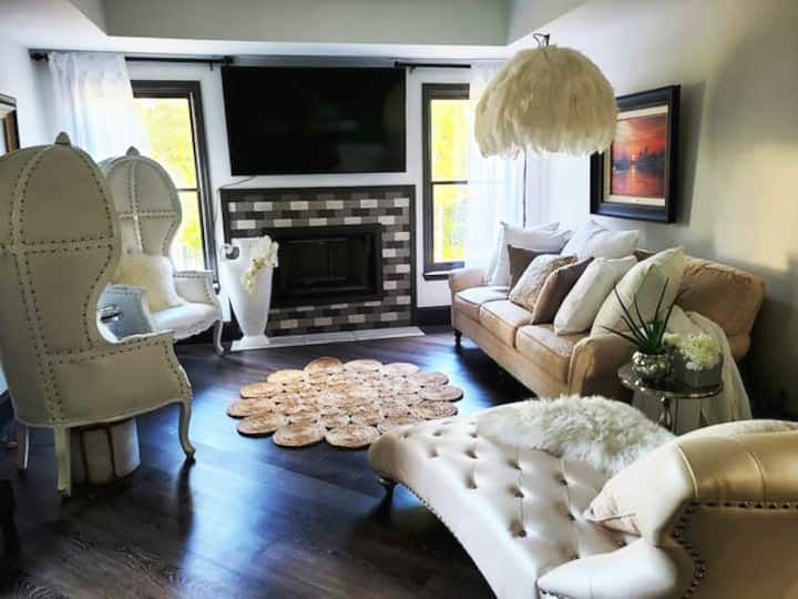 A great space for vacation with family or friends