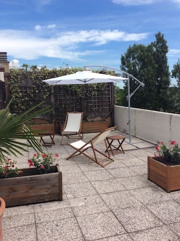 Beautiful apartment with double terrace - Padova - Apartment