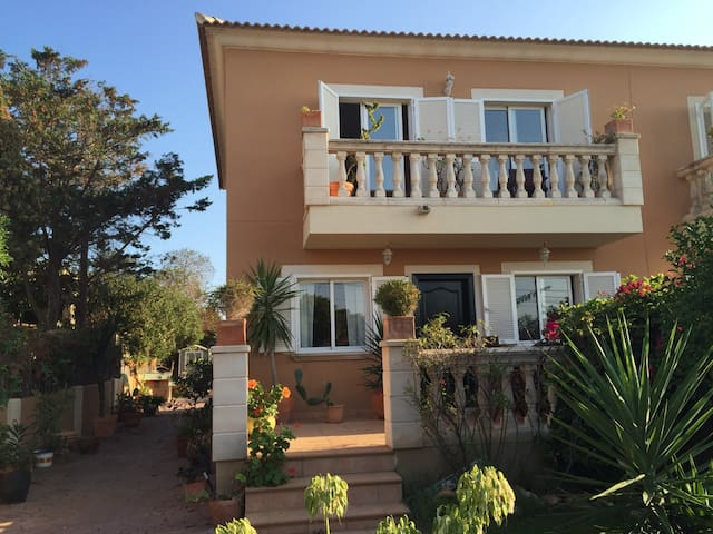 Ensuite Double Bedroom, with private balcony - Badia Gran - Casa