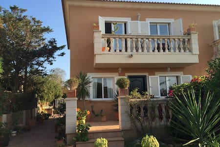 Ensuite Double Bedroom, with private balcony - Badia Gran