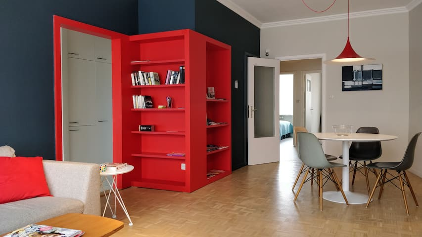 Newly renovated designer apartment in Gent