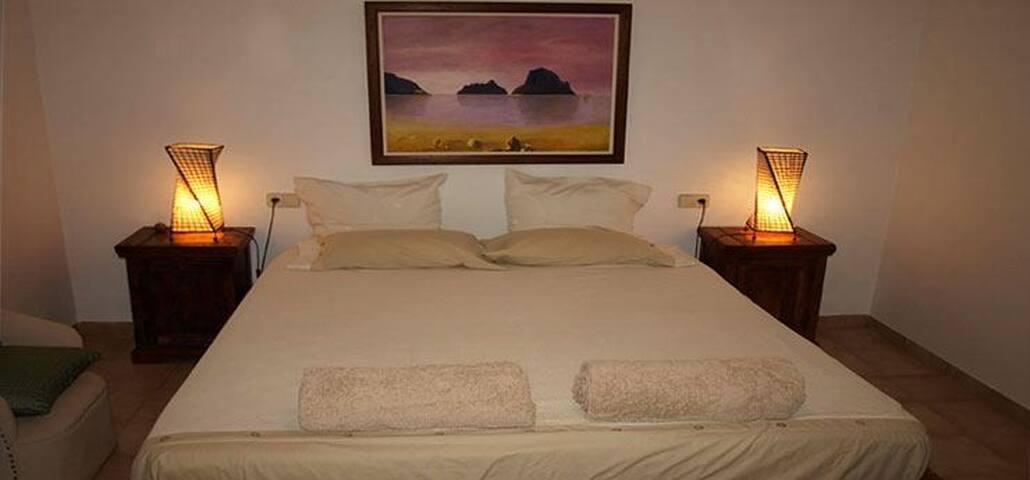 Fenomenal habitación típica en casa IBIZENCA - Santa Gertrudis de Fruitera - Casa
