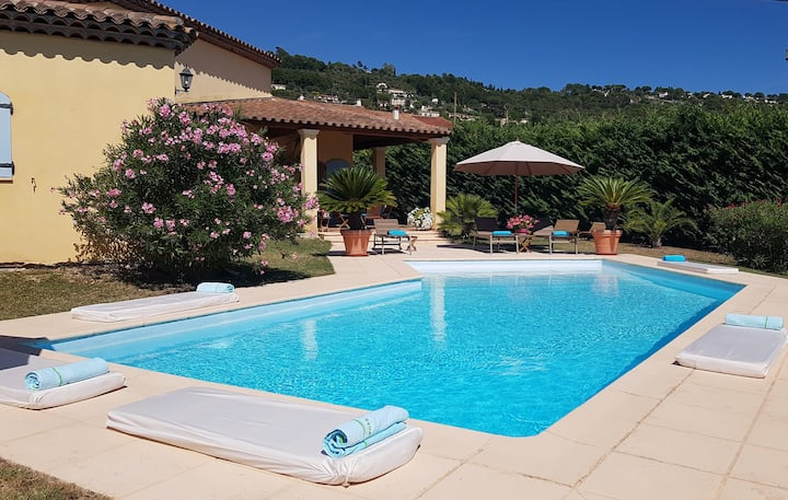 "Guest House ""2 pièces"" ind. + jardin + piscine"