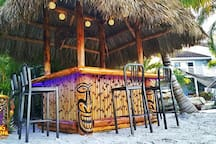 Turtle Beach Bar/Dining - take the Trolley there