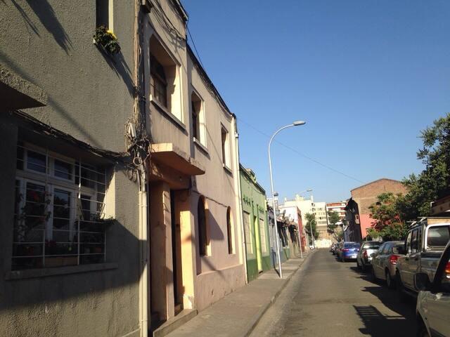 Habitaciones en zona residencial Santiago Centro
