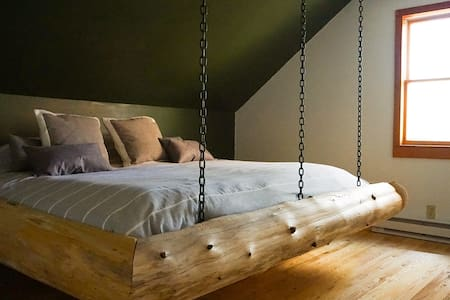 Chain Lakes Room @ LlamaHouseADK