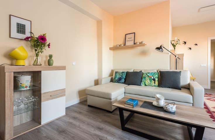Luminoso apartamento Plaza España