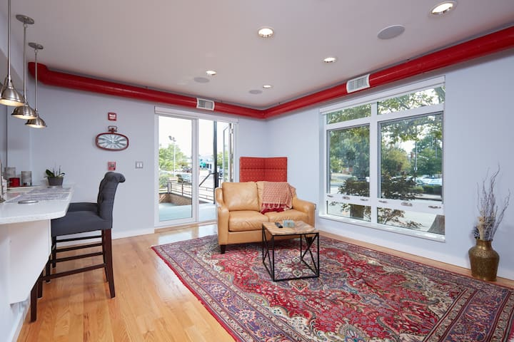 Modern Apartment In The Heart Of Del Ray