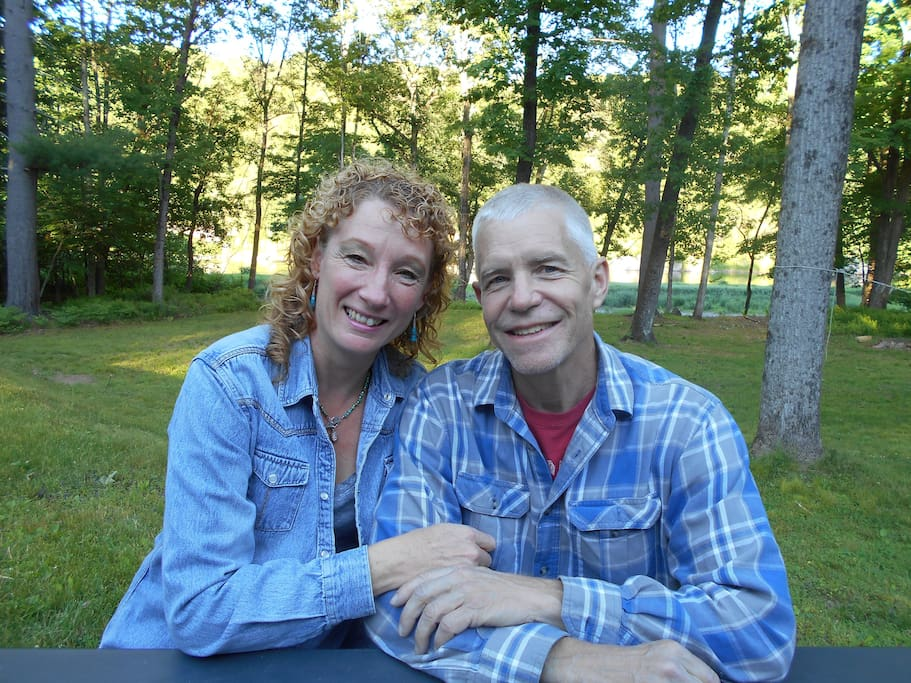 Meet the hosts Tim and Lisa Hoffmann. The property has been in the Hoffmann Family for over 50 years.