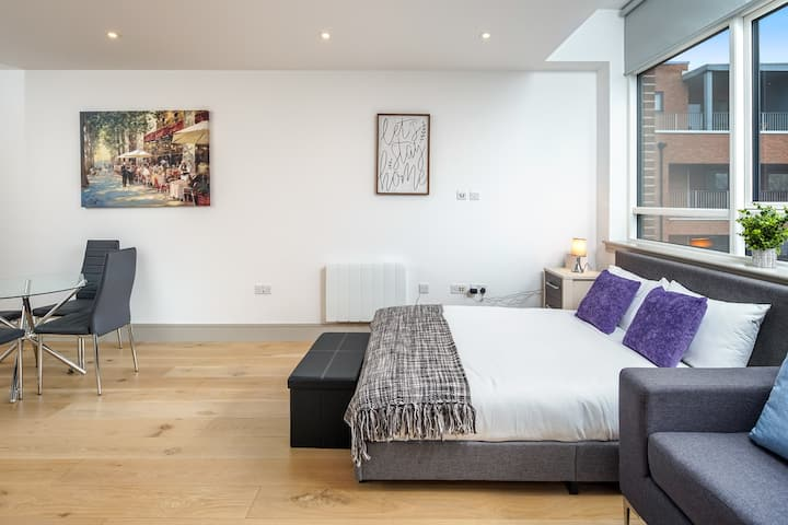 Stylish studio flat in London