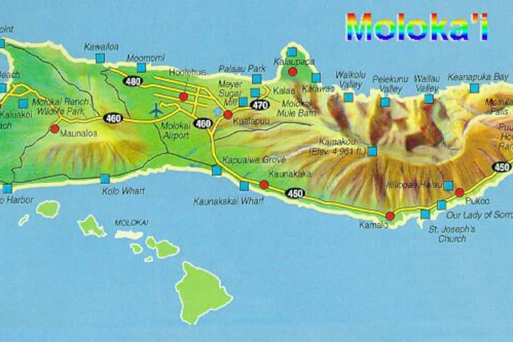 Island of molokai