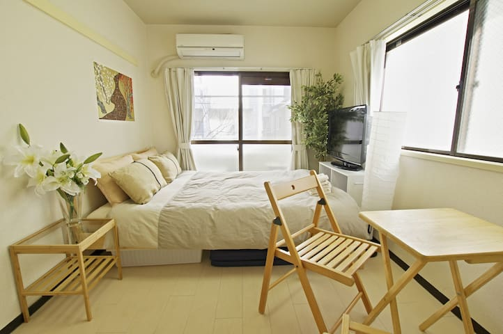 Near SHINJUKU 4min. by train /cozy room/Wi-Fi #206
