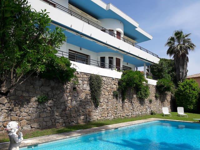 Haut de villa avec vue panoramique - Golfe-Juan