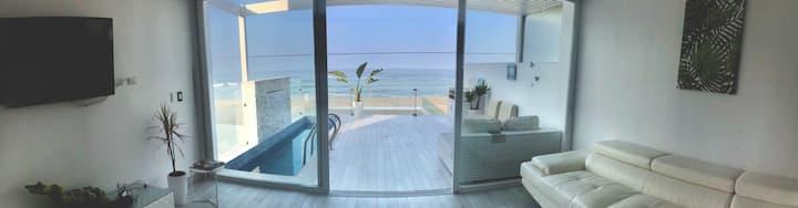 Duplex frente al mar PLAYA SEÑORITAS