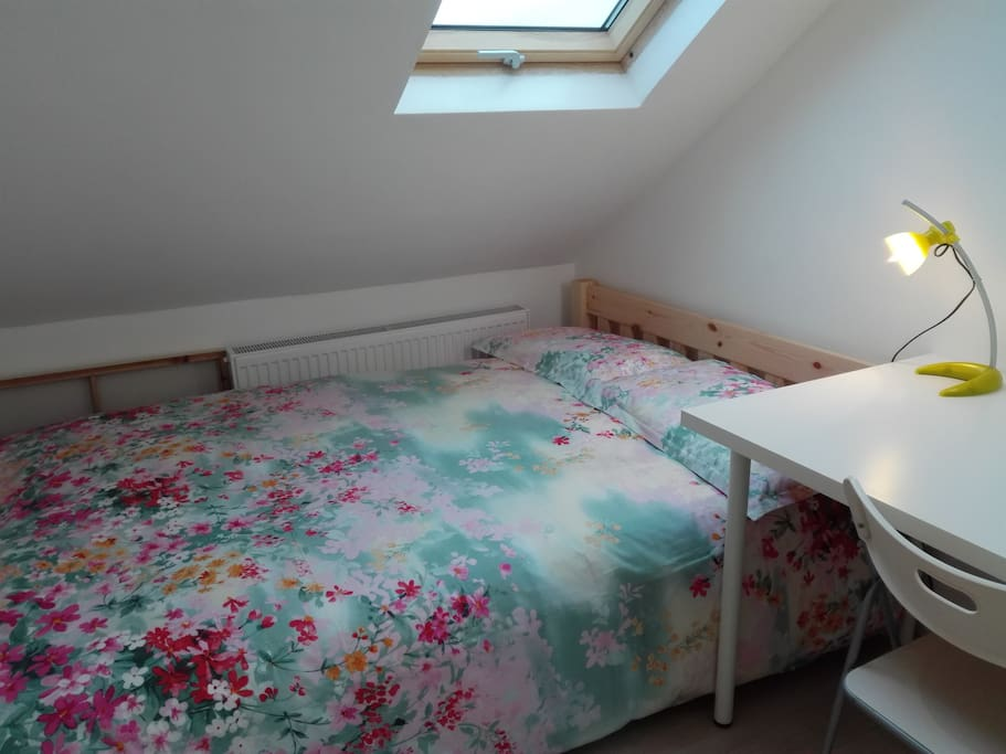 The Double Room (extra single bed to be added if required)