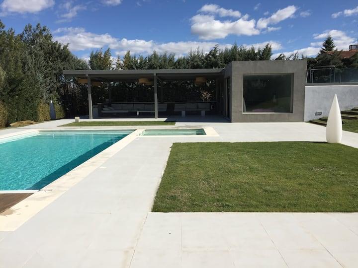 Casita de piscina ideal parejas
