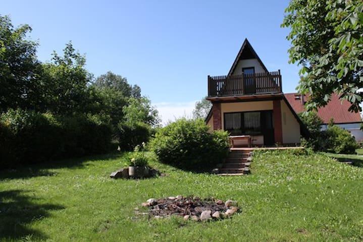 Ferienhaus in der Feldberger Seenlandschaft - Woldegk