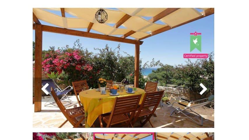 150 metri dal mare Villa sulla BAIA - Cornino - Casa