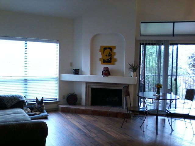 Cozy, Private Bedroom on The Green Belt, Near DT!