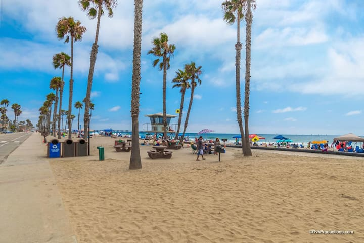 Beautiful, Equipped & Cozy 1 BR Close 2 the surf!