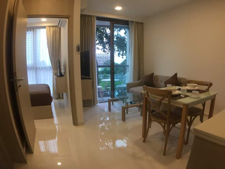 Luxury Condo 1 Bedroom Cosy Beach Pratamnak