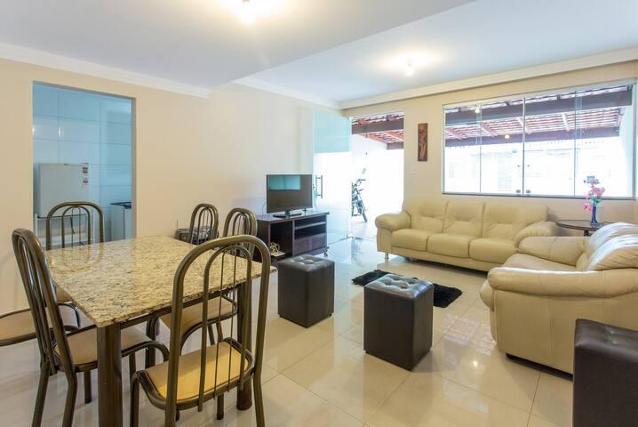 Casa inteira, Cruzeiro V.- Excel. Localização.