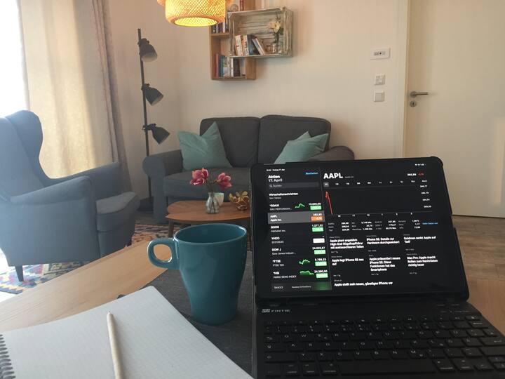 Homeoffice - arbeiten wo man sonst Urlaub macht