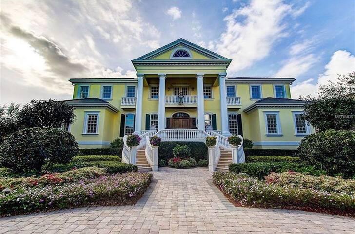 Luxurious Estate, Water Views, Gate, Infinity pool - Osprey - Maison