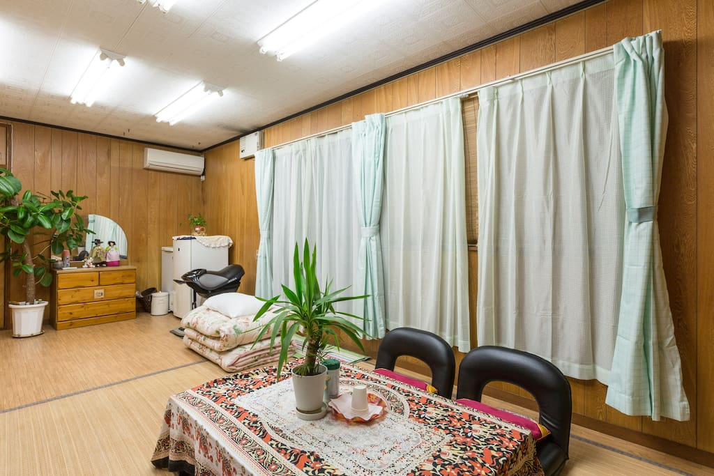RELAX in the biggest private room at Kwon-san's house (out of 3)