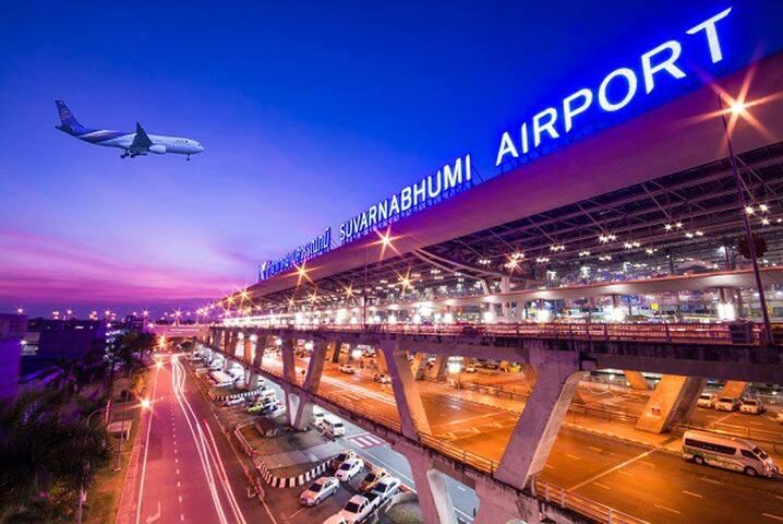 ★Suvarnabhumi Airport (BKK)★Self-Checkin 24 Hrs #1