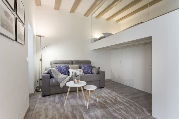Comfy studio in the heart of Sitges