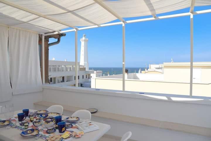 Apartment with large terrace with sea view - La Terrazza di Alcino