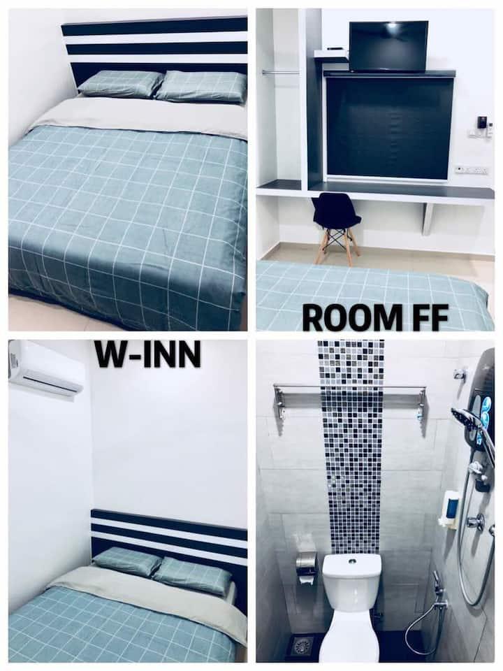 Double Deluxe Room FF 2pax  W-INN Homestay Kuantan