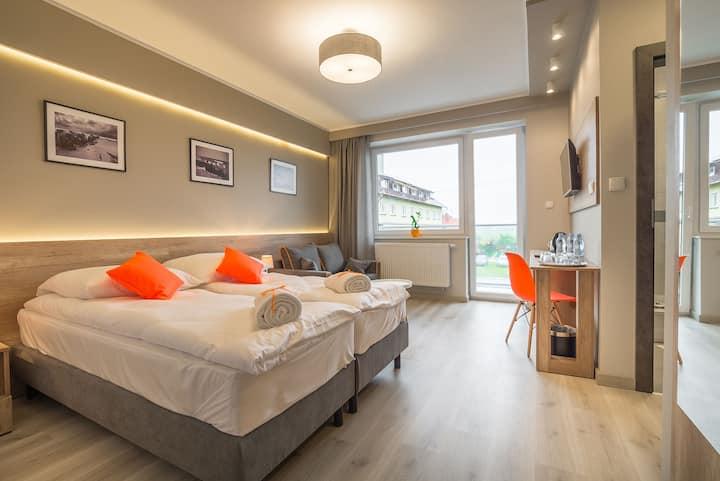 Komfortowy Pokój 2-osobowy z balkonem