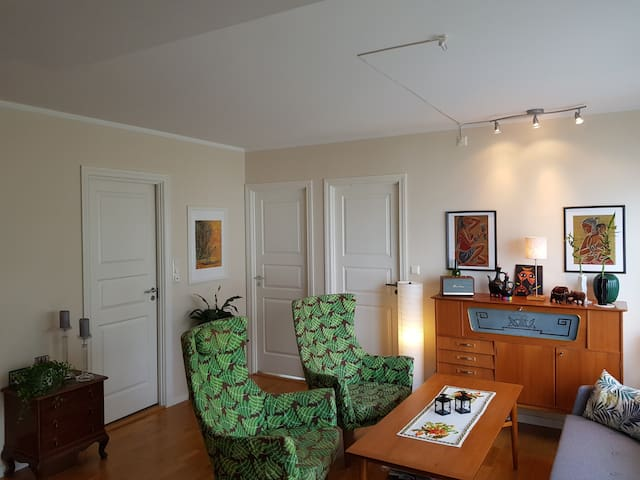 Private room  in quiet area at Damsgård, Bergen