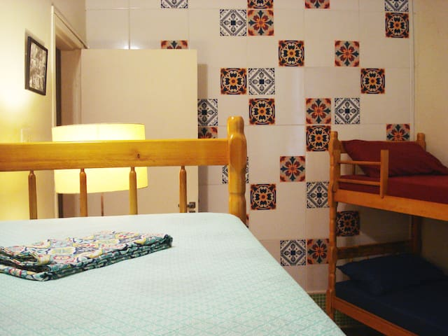 Spacious shared room ★ Great location!